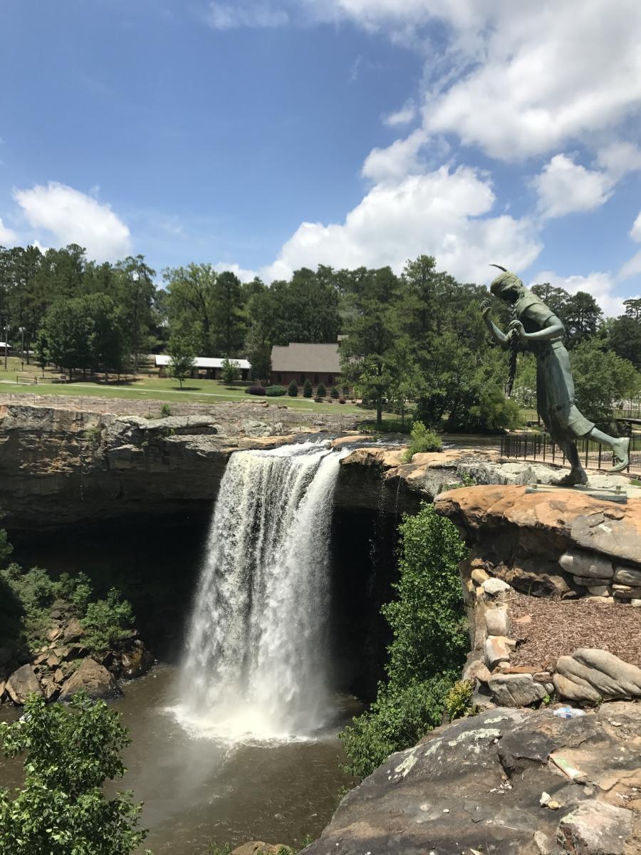 Carley\'s Adventures: Noccalula Falls Park   Visit North Alabama