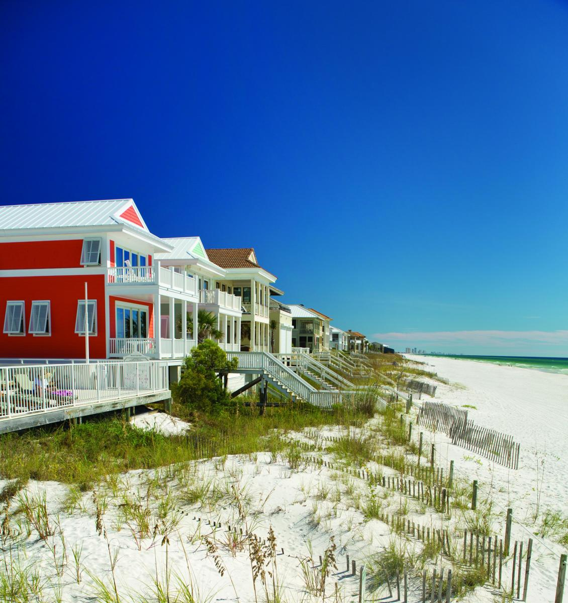 Florida Beach House Weddings: Beach Houses & Townhome Rentals