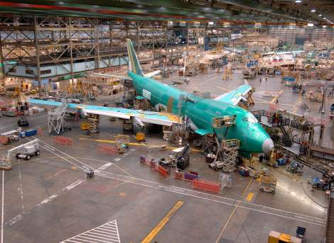 Boeing Factory Tour 747-400 Final Assembly