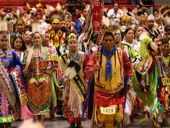 Gathering of Nations Pow Wow