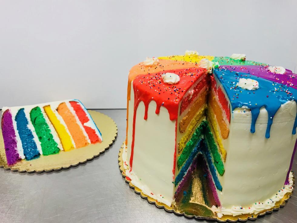 Phonecia pride cake