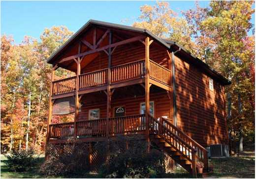 cabin watauga in log rentals driveway butler b creekside cabins bristol tn rental lake chalet