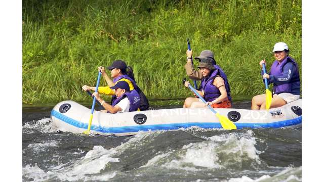 Rafting on the Upper Delaware river 776