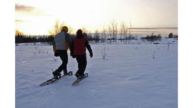 Snowshoeing- Adirondacks near Saranac Lake