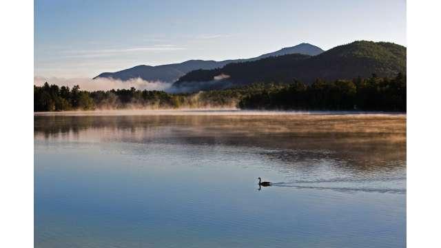 Mirror Lake - Whiteface Mountain