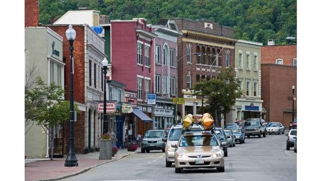 Village of Saranac Lake - Main Street