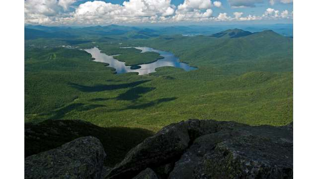 View of Lake Placid from Whiteface Mountain 193
