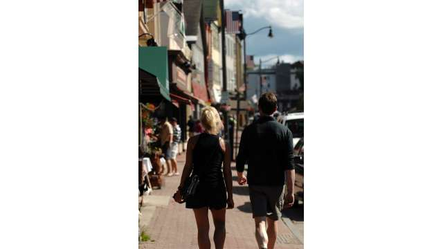 Shopping in Village of Lake Placid
