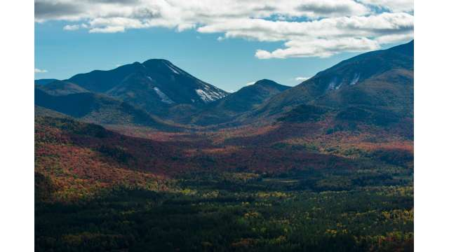 View of Giant Mountain from Rooster Comb in Keene