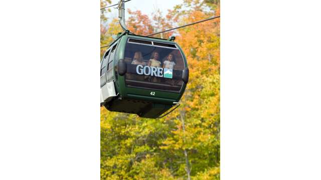 Fall festival at Gore Mountain. Gondola Ride
