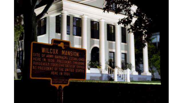 Wilcox Mansion - Site of Inauguration of President Theodore Roosevelt