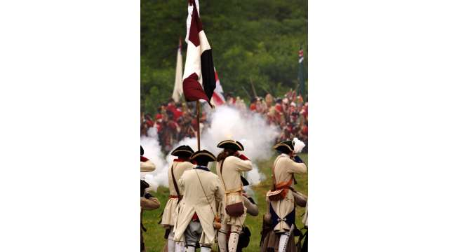 French & Indian War Encampment at Fort Ticonderoga 949
