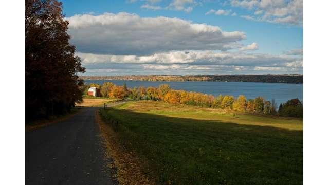 View of Owasco Lake