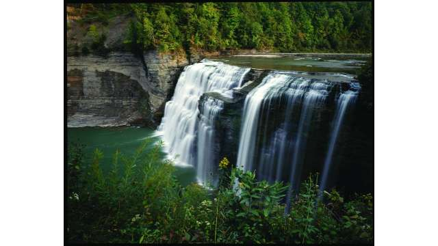 Middle Falls - Letchworth State Park