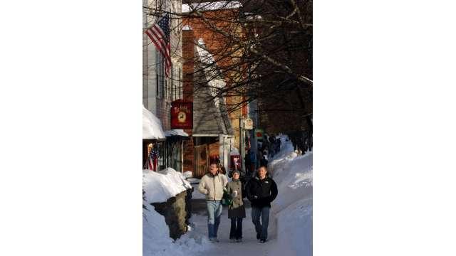 Cooperstown in Winter 83