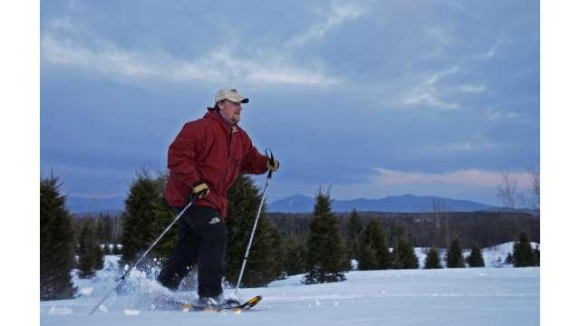 Snowshoeing in the Adirondacks