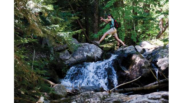 Hiking Whiteface Mountain - Stag Brook Falls Trail