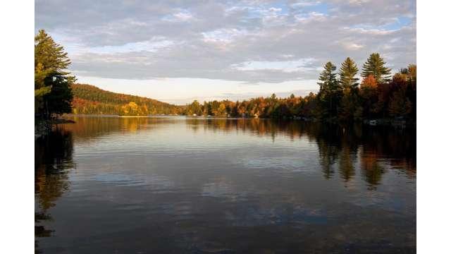 Sixth Lake in the Adirondacks