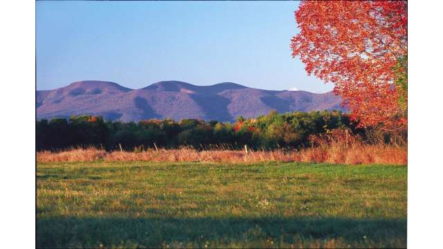 View of Northern Catskill Mountains off Route 32 in Greene Co.