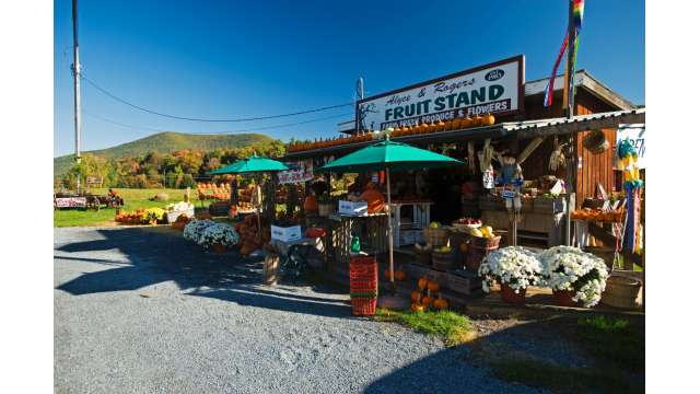 Produce Stand along Route 28 Between Boiceville and Mt. Tremper