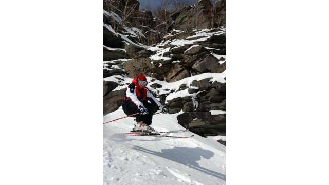 Skiing at Hunter Mountain 848