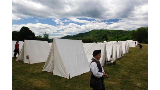 French & Indian War Encampment at Fort Ticonderoga 948