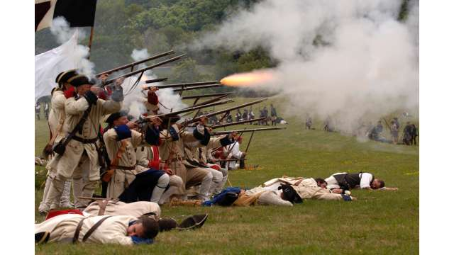 French & Indian War Encampment at Fort Ticonderoga 951