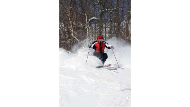 Skiing at Hunter Mountain 1124