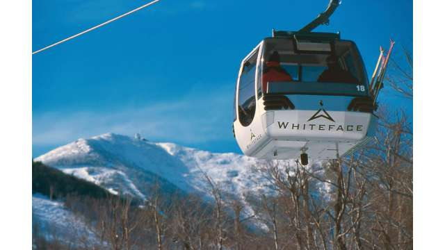 Gondola at Whiteface Mountain