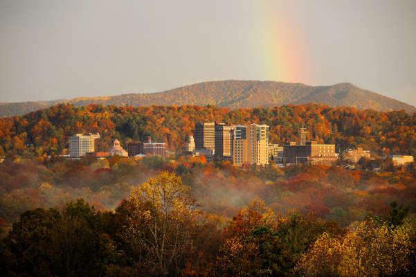 Asheville Fall Skyline