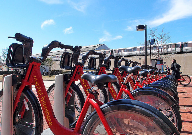 Biking In Alexandria Maps For Bike Trails Bikeshare Stations