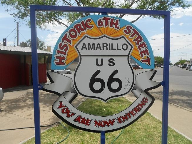 Image result for amarillo tx route 66