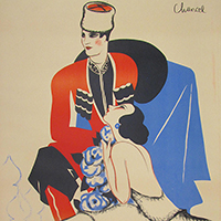 """Tour at Two: """"Opera in Print: Fin-de-siècle Posters from the Blum Collection"""""""