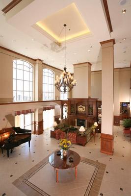 Hilton Garden Inn Athens Lobby