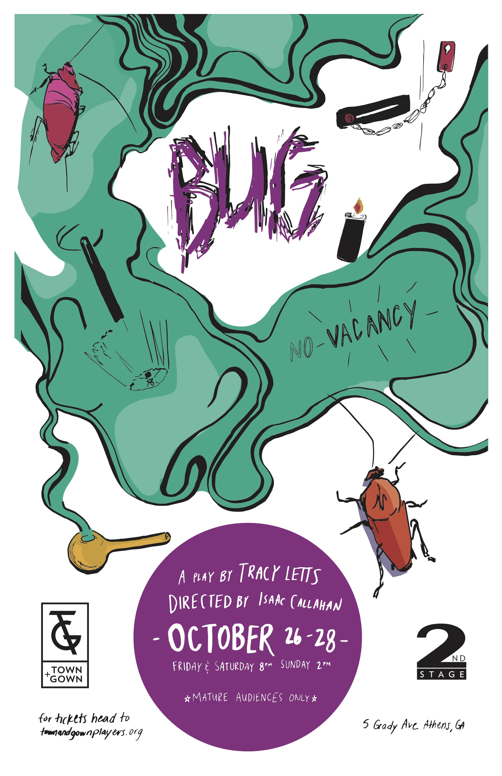 Town & Gown Players present BUG
