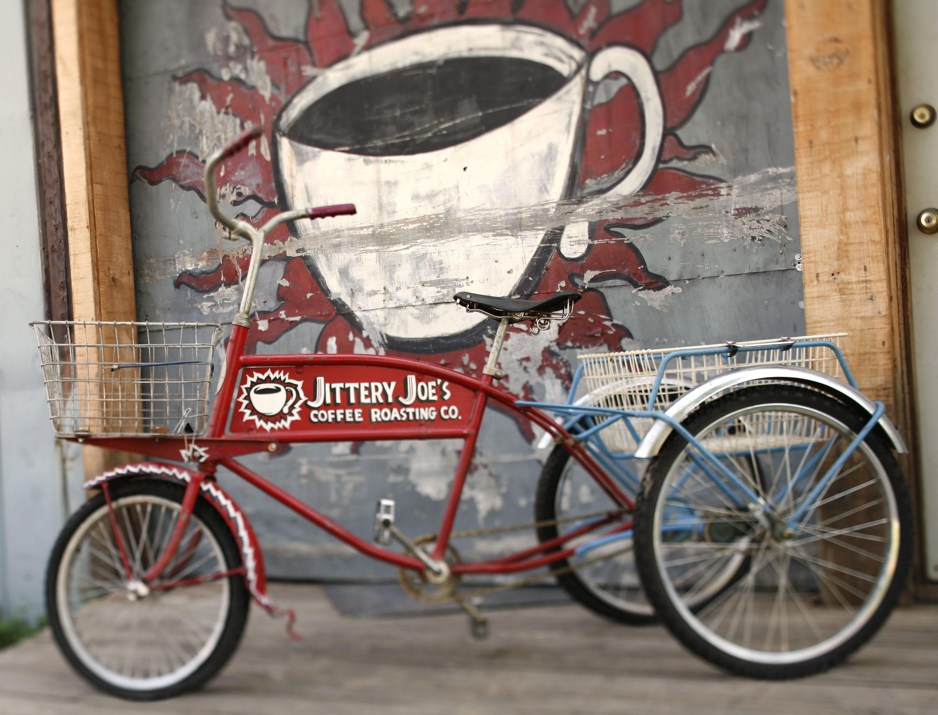 Jittery Joes Coffee Roasting Company Low Jitter Sige Vcsos Delivery Trike