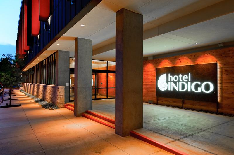 Hotel Indigo Exterior Logo