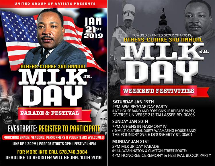 Mlk Day Parade And Festival Weekend