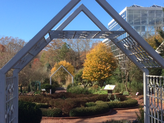 Superbe State Botanical Garden Of Georgia Athens Archway
