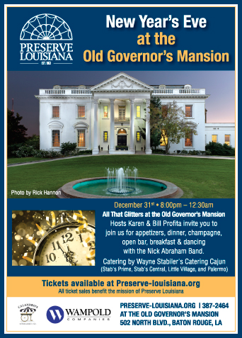 new years eve at the old govenors mansion