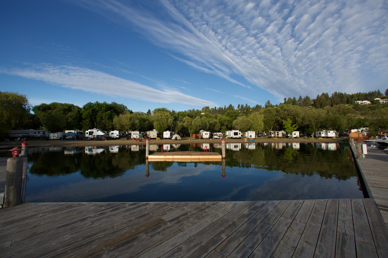 Wood Lake Rv Park Amp Marina Rving Travel British Columbia