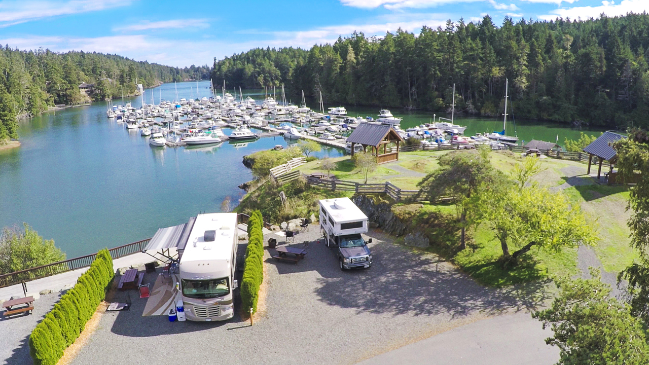 Pedder Bay Rv Resort Amp Marina Rving Travel British