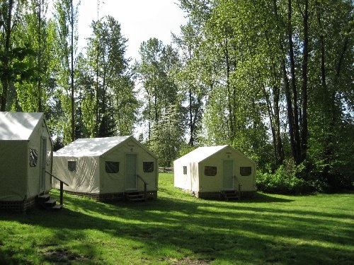 Camping In Brae Island