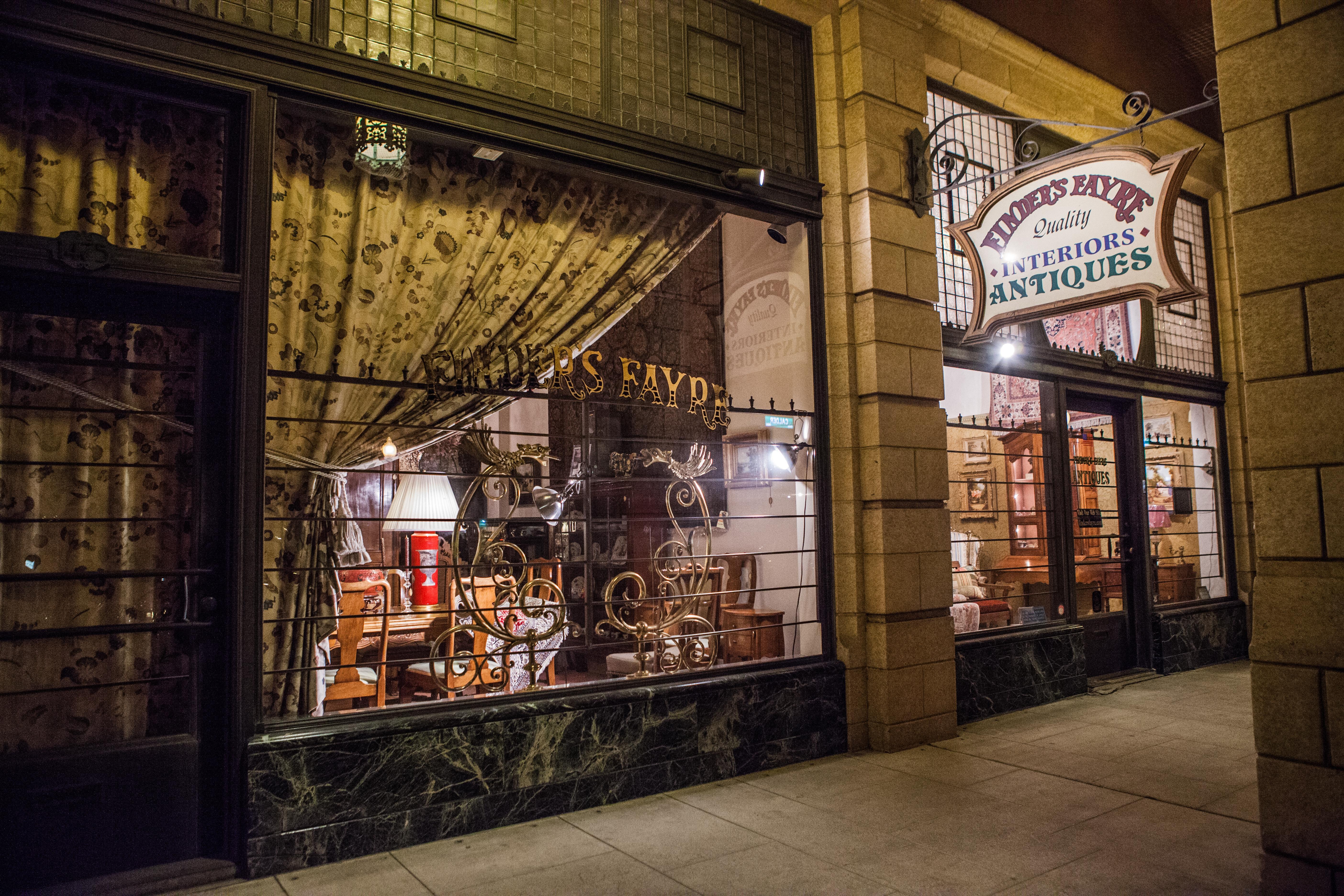 Antique stores madrid