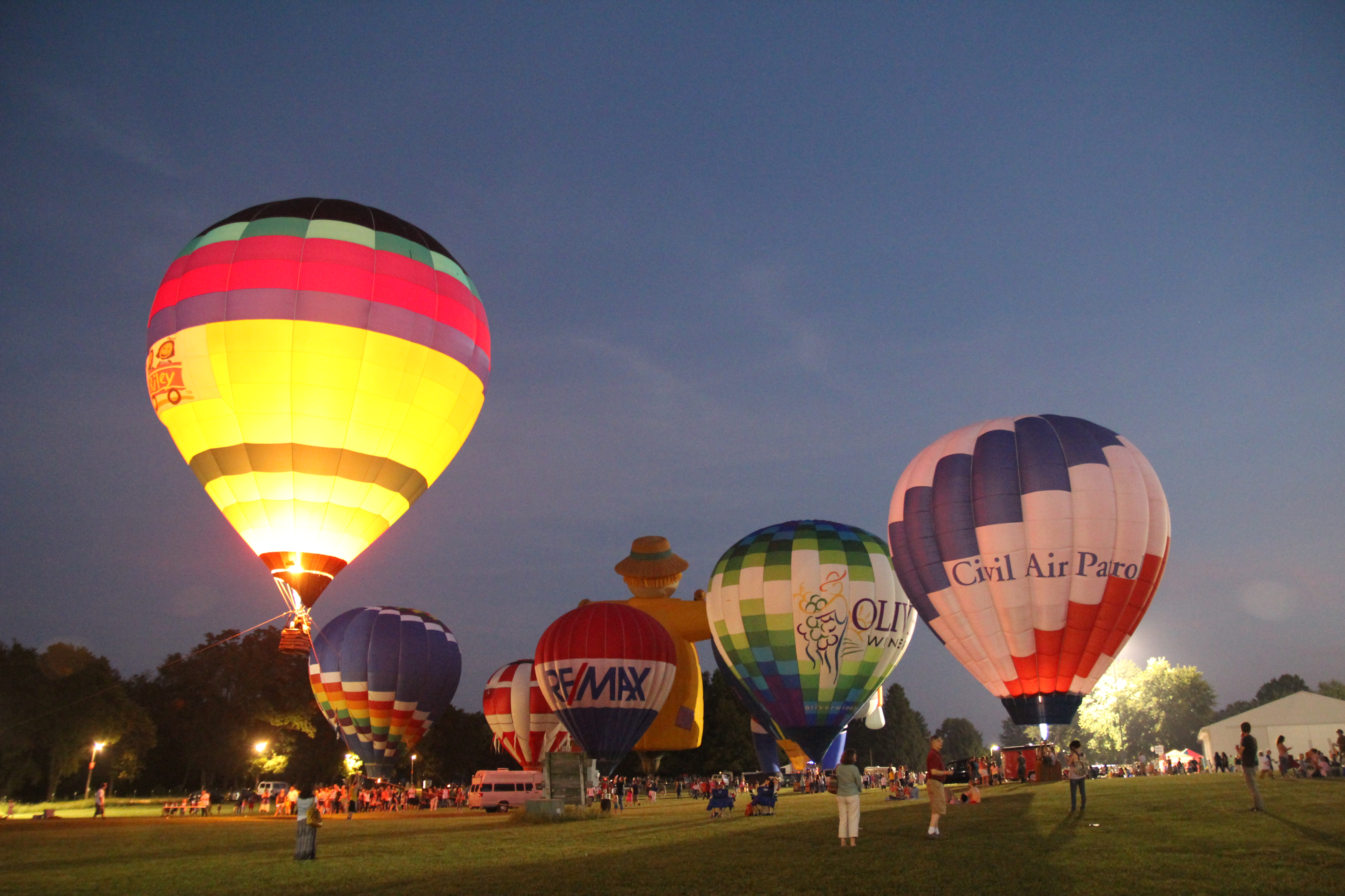 kiwanis of south central indiana balloon festival
