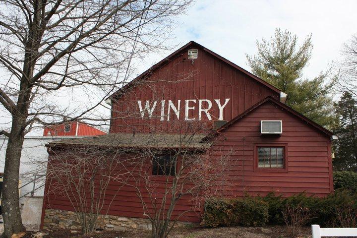 New Hope Winery Side Exterior