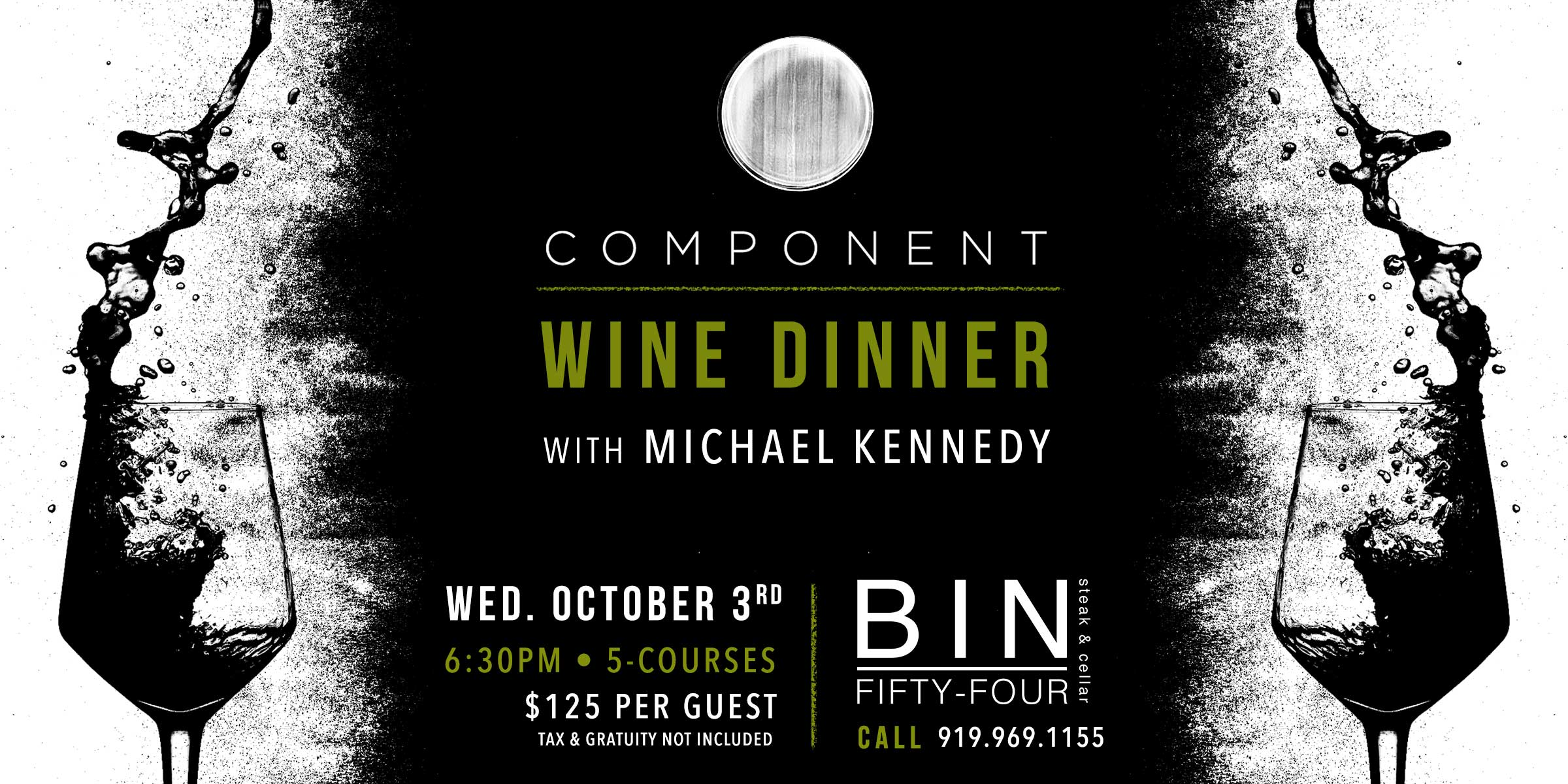Component Wine Dinner With Michael Kennedy