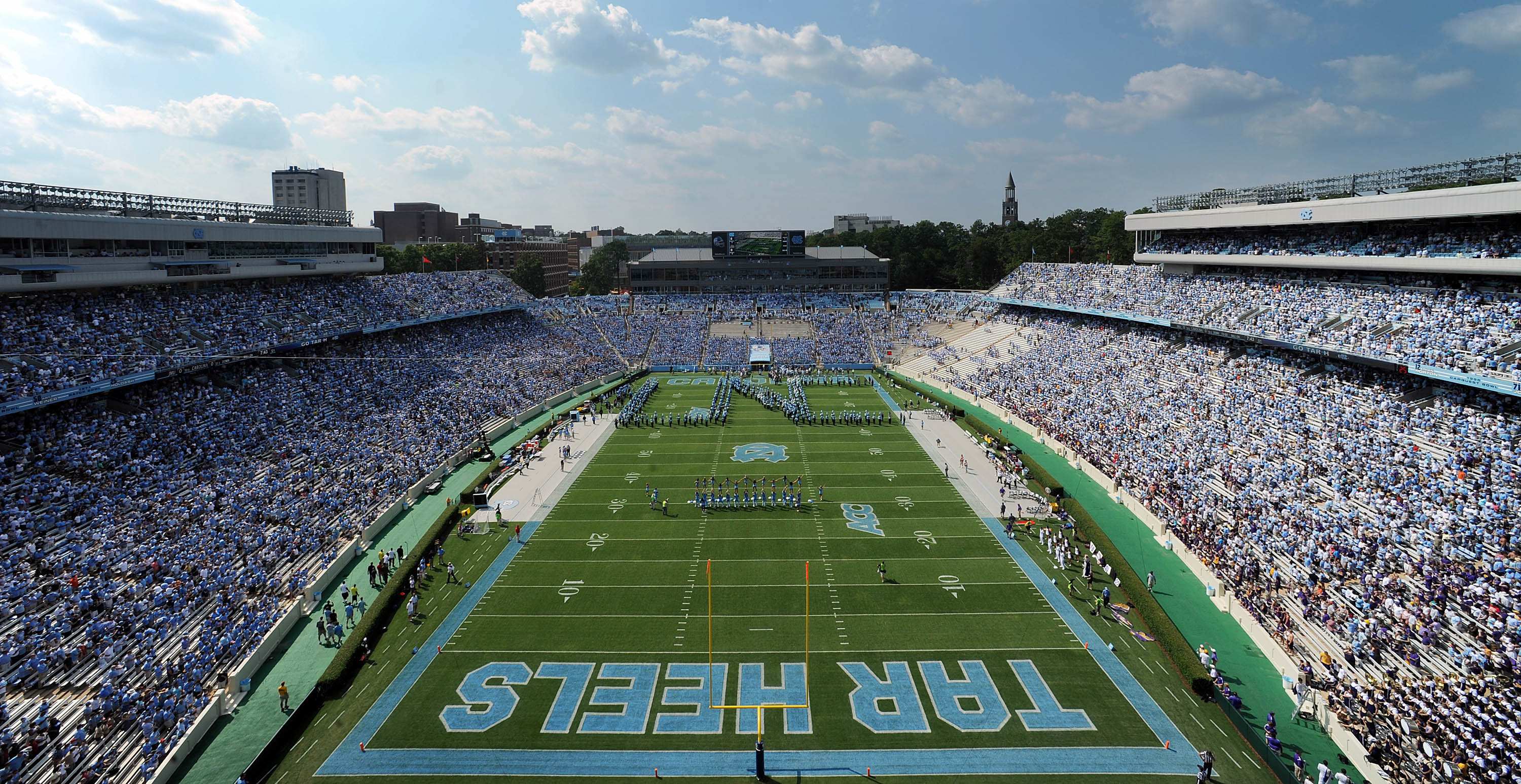 unc vs western carolina football