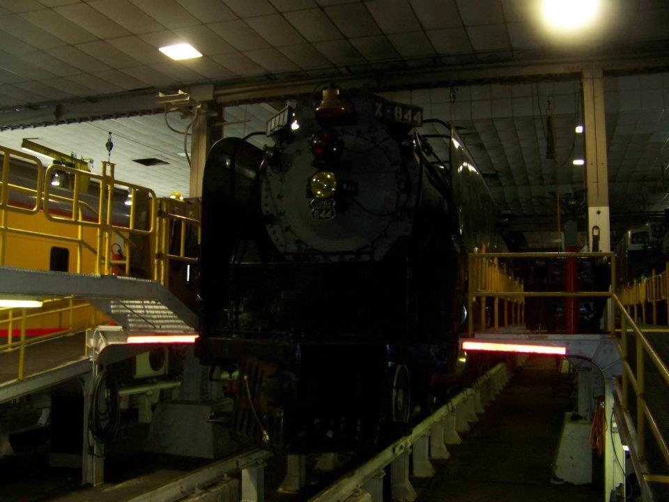 Union Pacific Roundhouse Turntable and Machine Shop