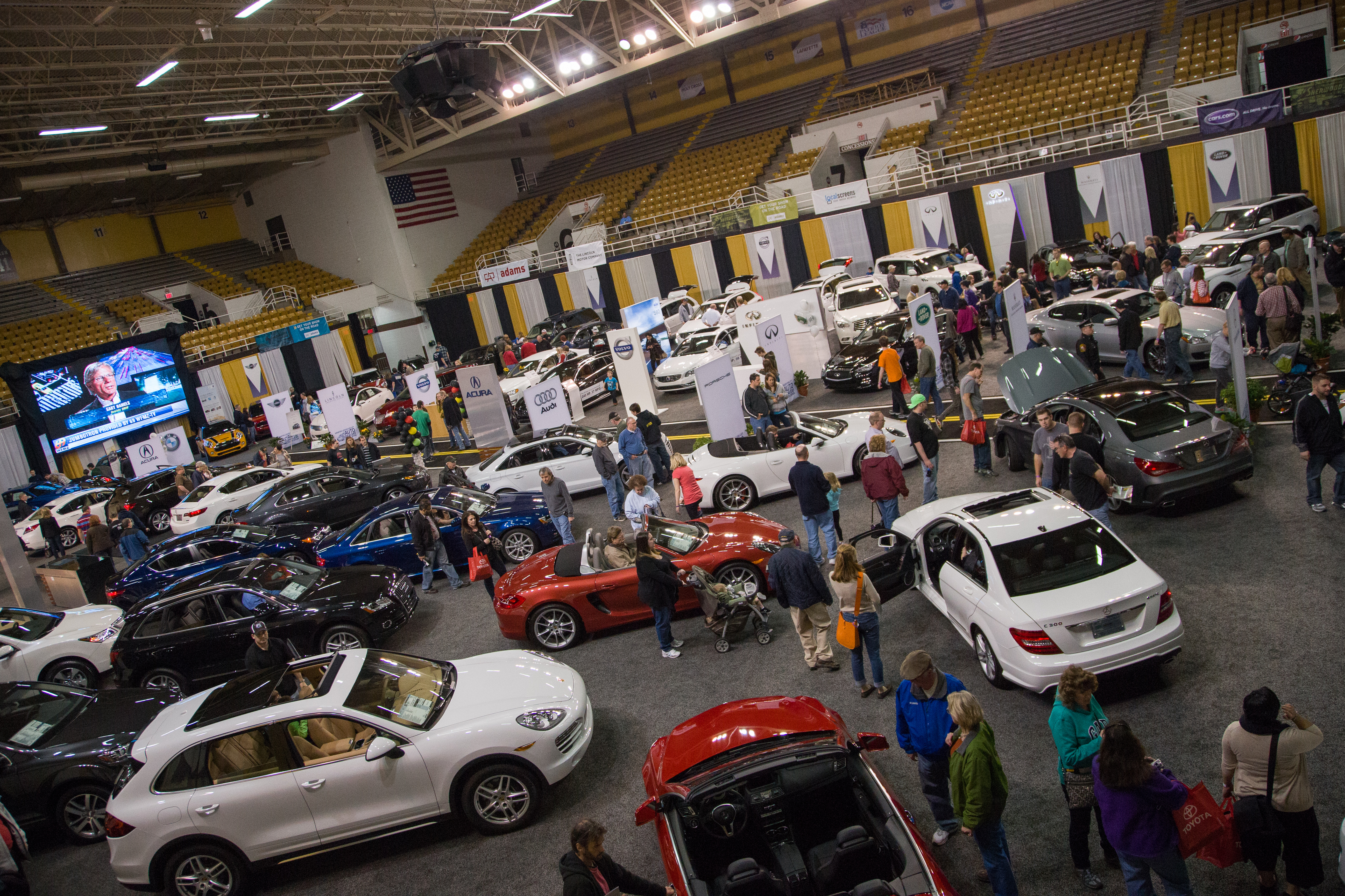 Lehigh Valley Auto Show Bethlehem PA - Allentown car show 2018